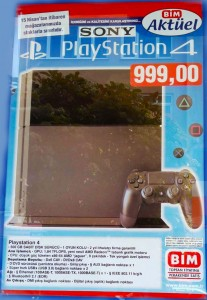 BİM 15 NİSAN PlayStation 4 Kampanyası