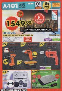A101 1 Aralık 2016 Aktüel Ürünler Kataloğu