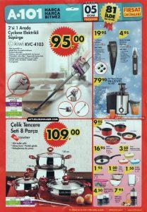 A101 5 Ocak 2017 Aktüel Ürünler Kataloğu