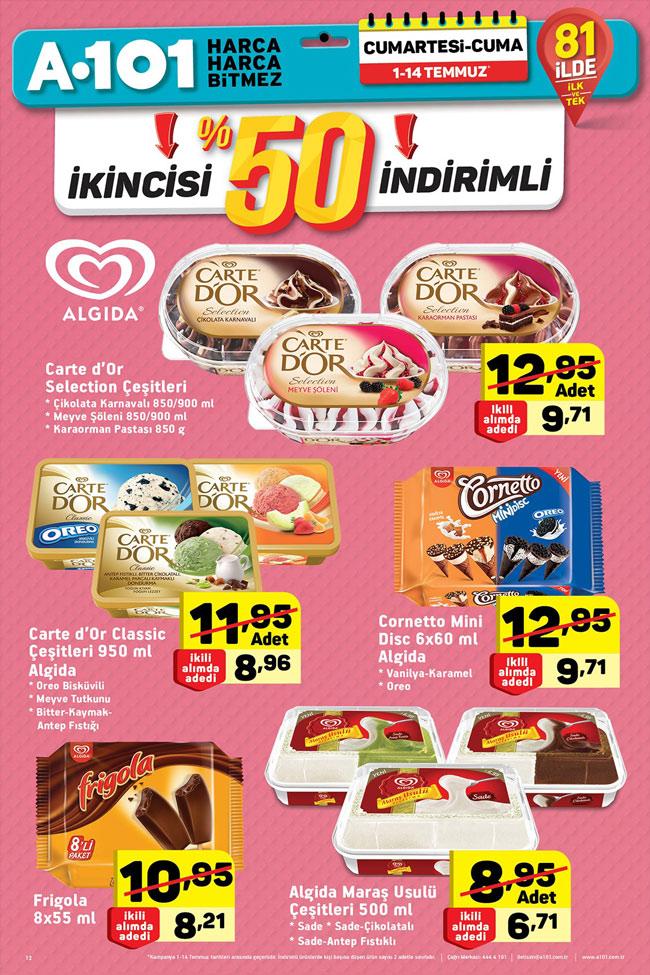 A101 1 14 Temmuz Aktüel Algida Dondurma Fırsatları