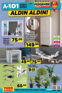 A101 21 Aralık 2017 Aktüel Ürünler Kataloğu