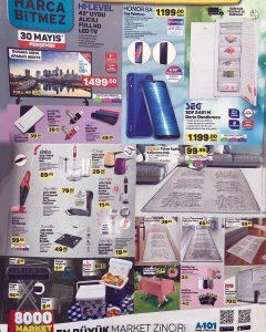 A101 30 Mayıs 2019 Aktüel Ürünler Kataloğu